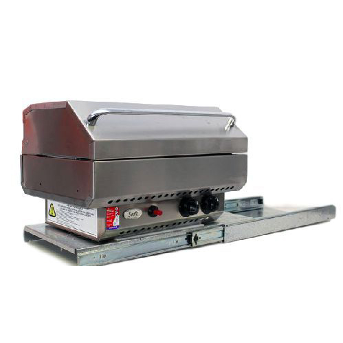 slide out rotatable bbq